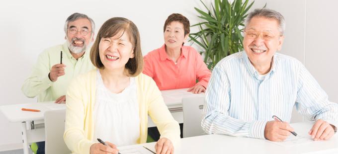 川越教室・志木教室、50歳からの韓国語教室